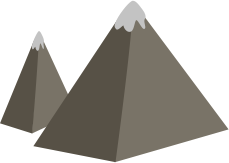 Illustration of mountains