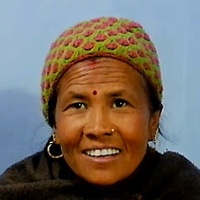 Close-up photograph of Amrita Thapa Magar