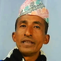 Close-up photograph of Chandra Man Kisan
