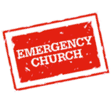 Emergency church stamp icon