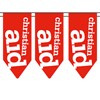 Christian Aid bunting