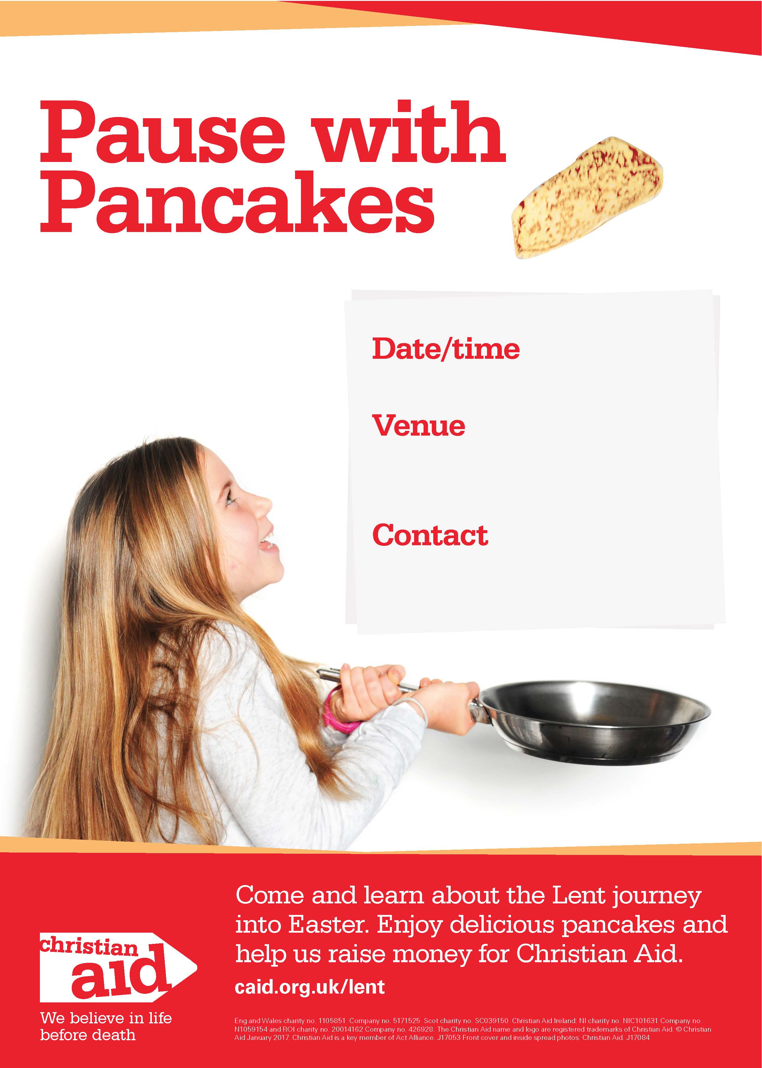 shrove tuesday poster image