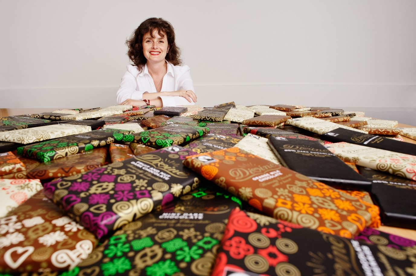 Sophi Trancell Group CEO Divine Chocolate Limited