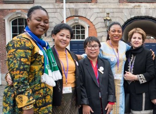 Sierra Leone MPs in Dublin for the International Congress of Parliamentary Women's Caucuses