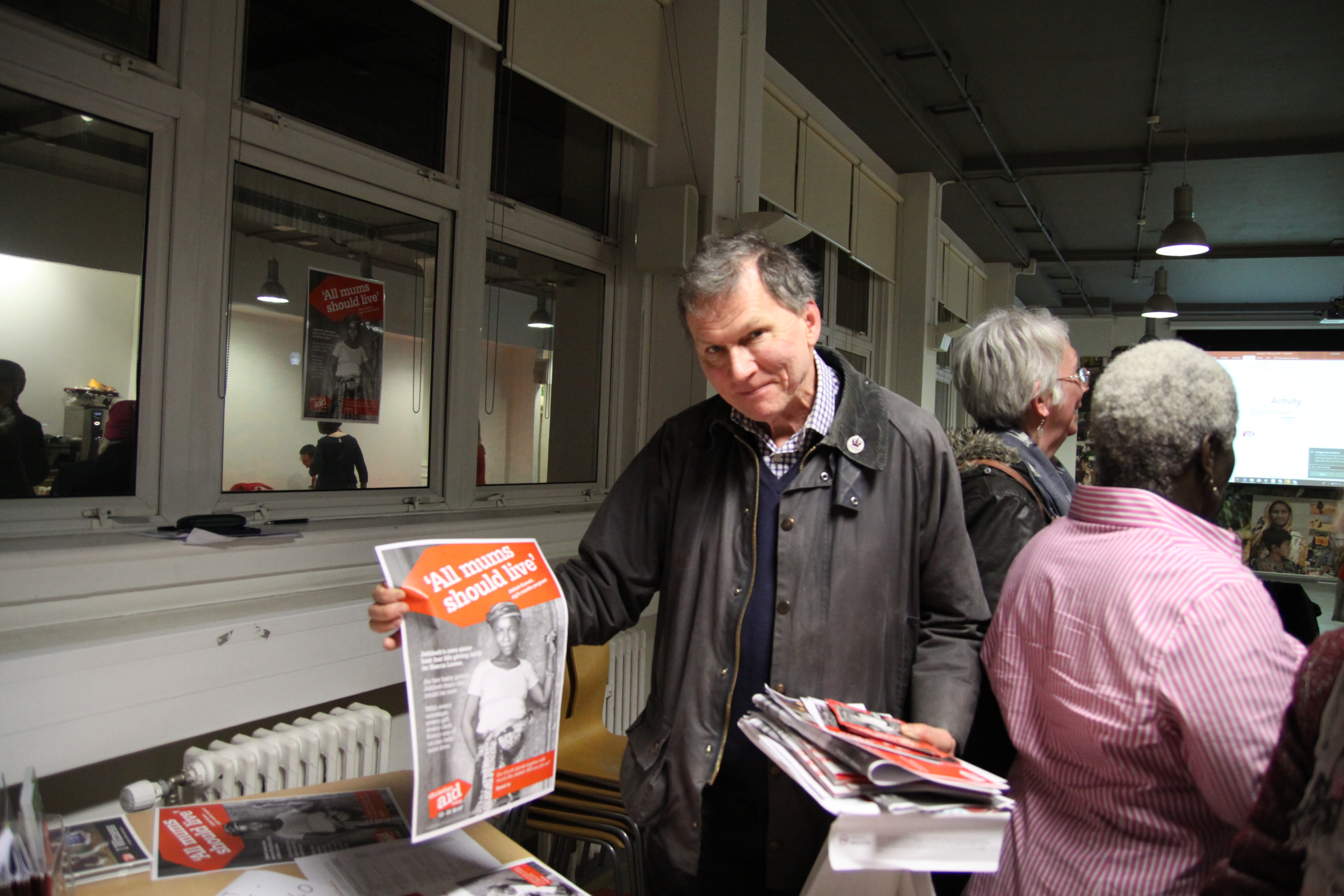 Our Richmond & Kew Christian Aid Group Organiser picks up some sample resources for Christian Aid Week 2019