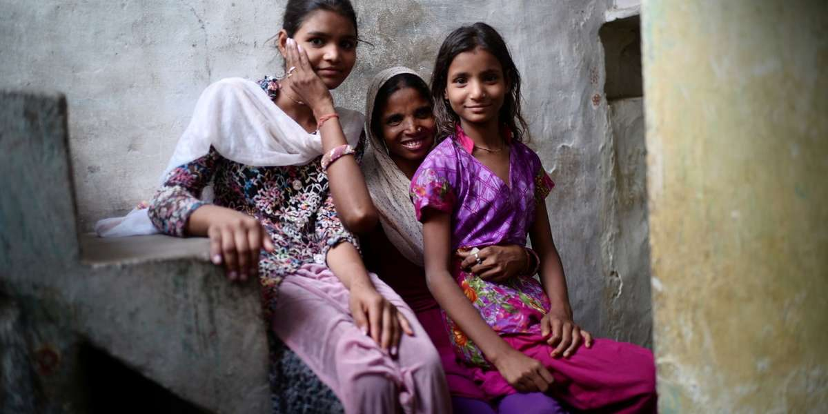 Ranjita supports her family with her tailoring business