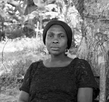 Jocelyne lost her home and her safety in Hurricane Matthew, Haiti.