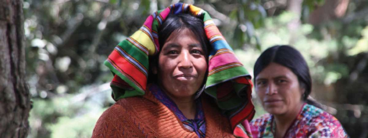 Guatemala women farmers from the Alane cooperative