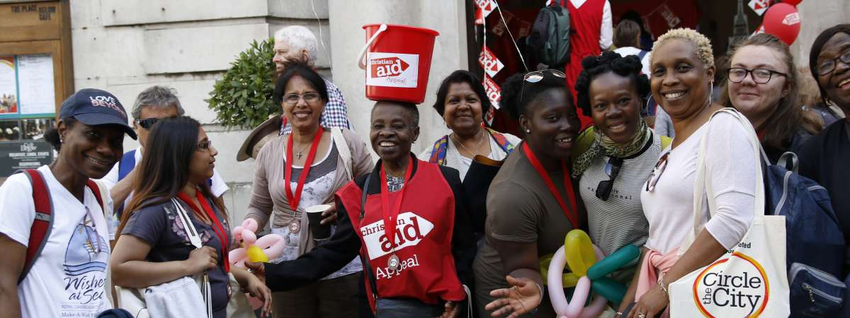 Christian Aid supporters