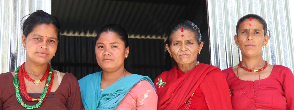 Christian Aid has worked in Nepal since 2004 and has programmes with local partners implemented across disaster prone areas