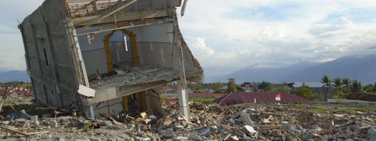 Petobo in South Palu was badly affected by the earthquake