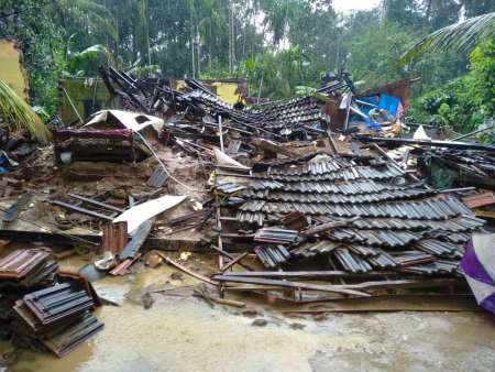 Devastation in Kerala India monsoon floods