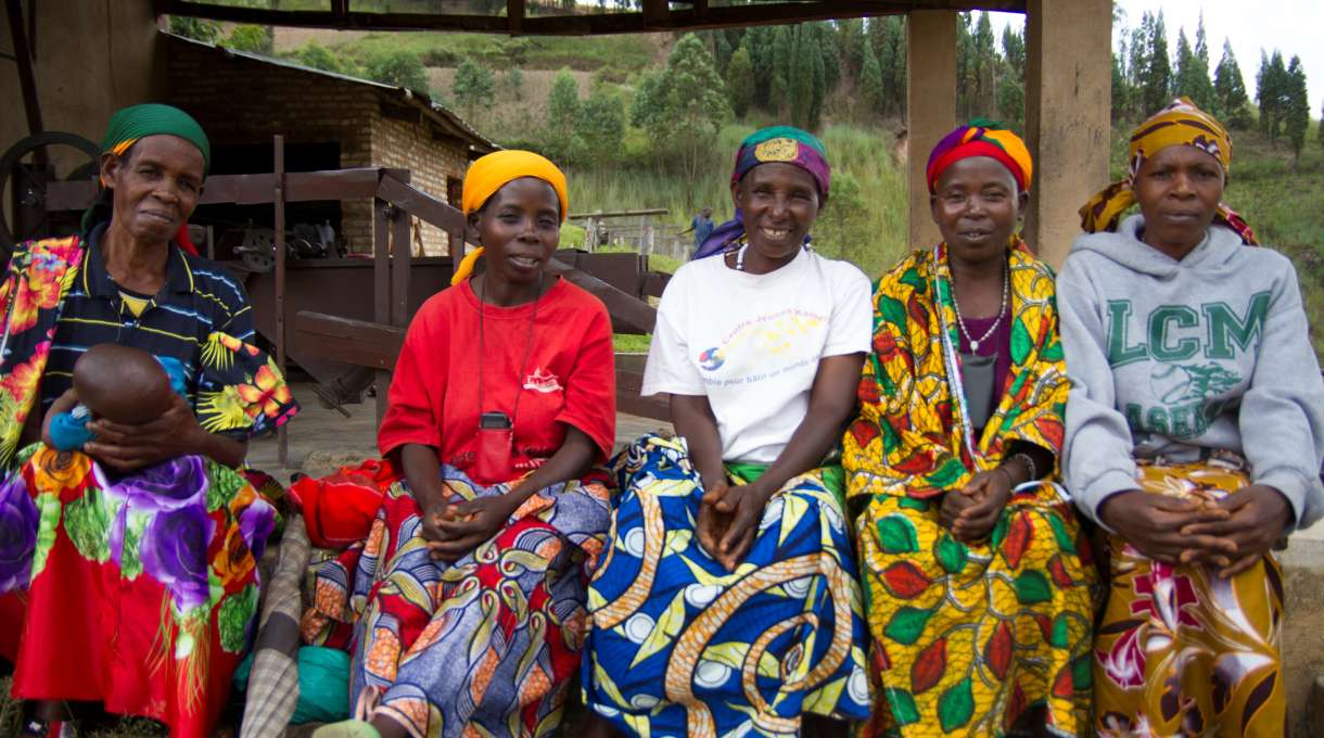 Women coffee growers in Burundi