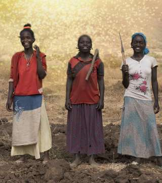 Aster and sisters in Ethiopia - Christian Aid