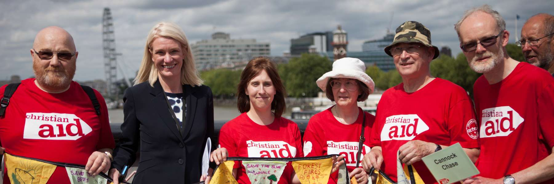 Campaigner lobby their MP on climate change - London Christian Aid