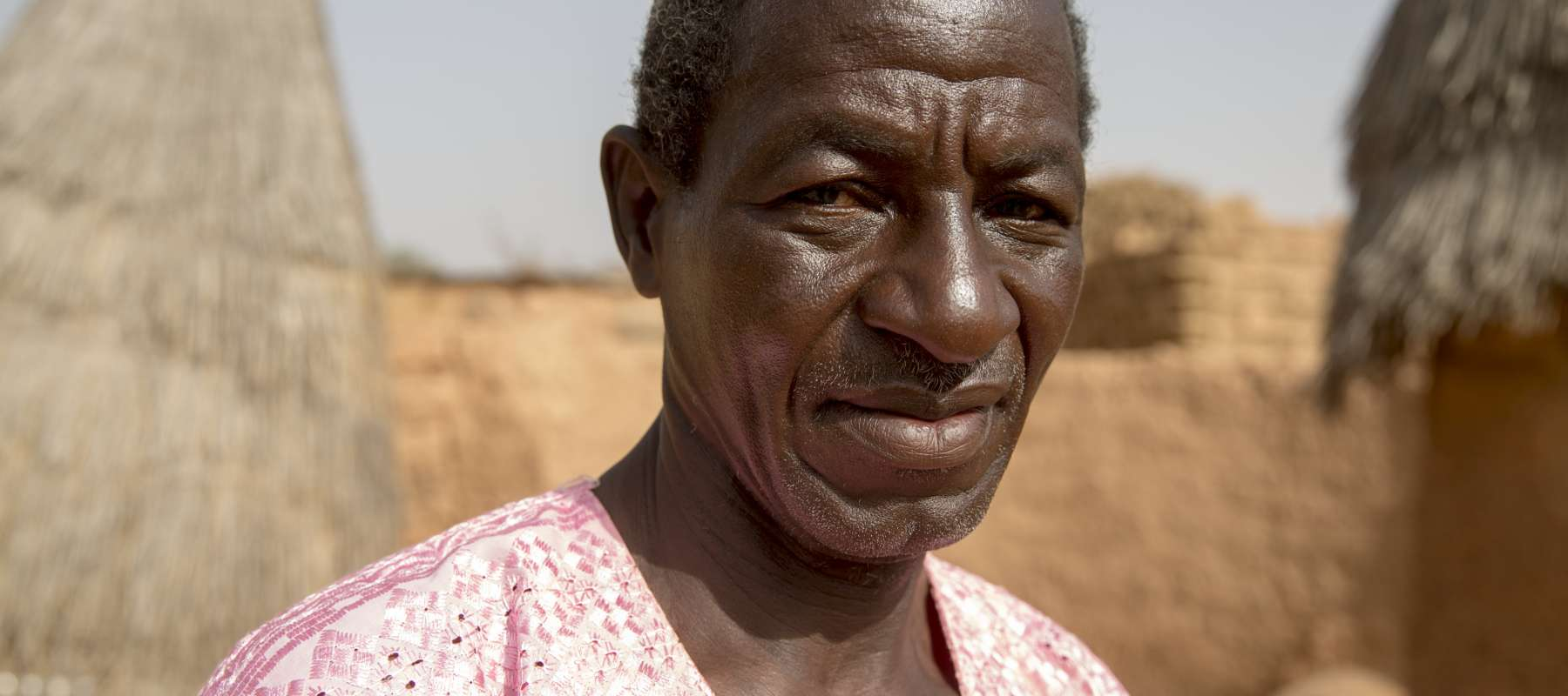 Farmer in Burkina Faso