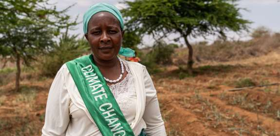 Naomi, a climate champion in Kenya