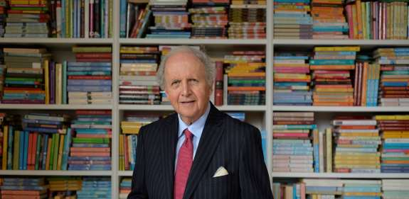 Alexander McCall Smith OBE - Christian Aid supporter