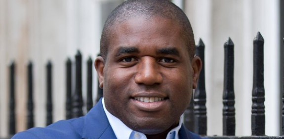 David Lammy - Christian Aid supporter