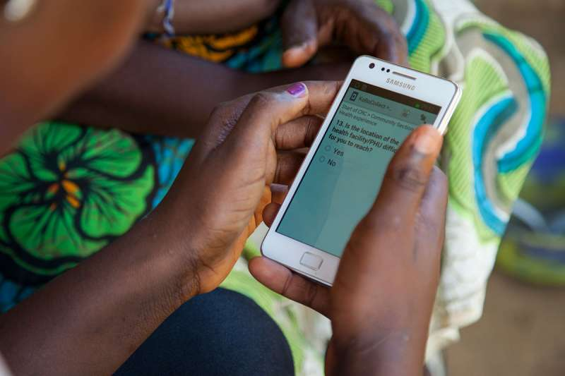 Community data gathering via mobile for the SABI programme