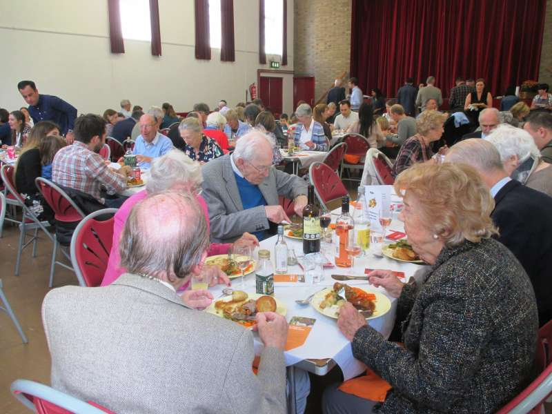 Harvest lunch 2016 St. Paul's Church Winchmore Hill