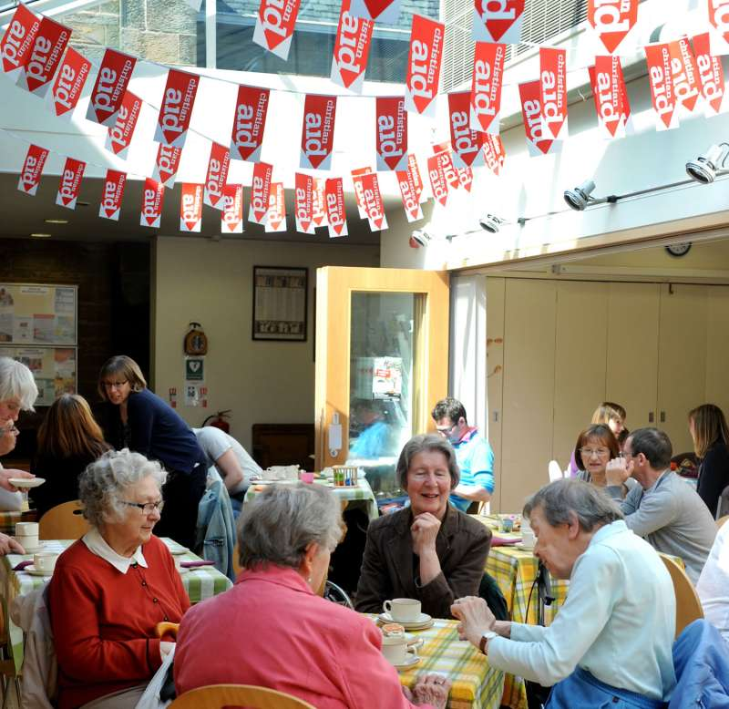 Marchmont coffee morning May 2016