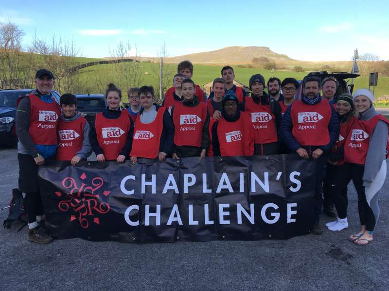 Rossall students ready to take on the 3 peaks