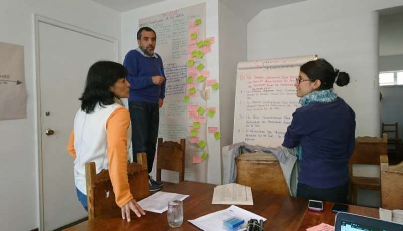 Strategy testing in Colombia,