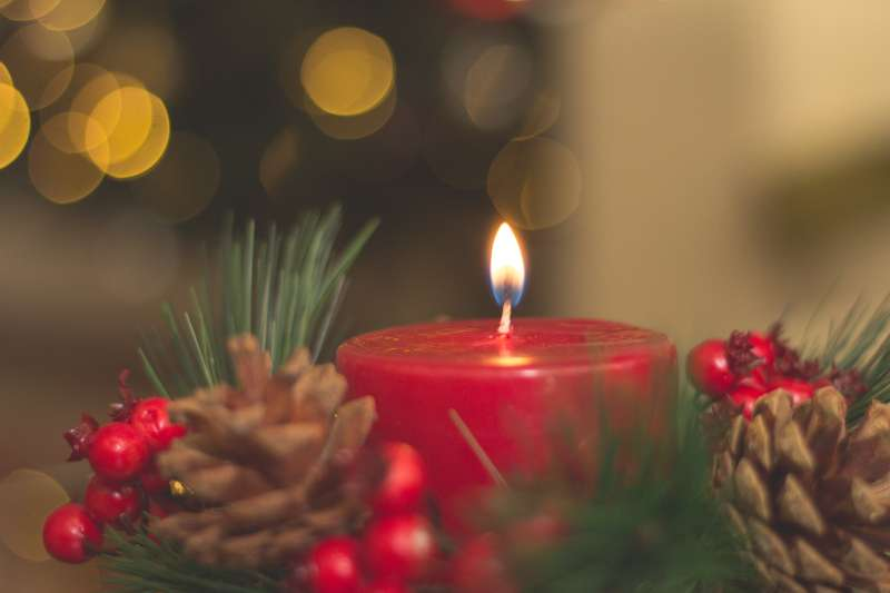 Advent wreath Christian Aid
