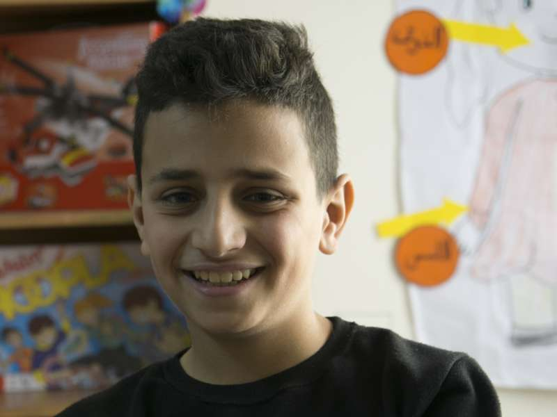 Hamza, as featured in our Christmas Appeal.