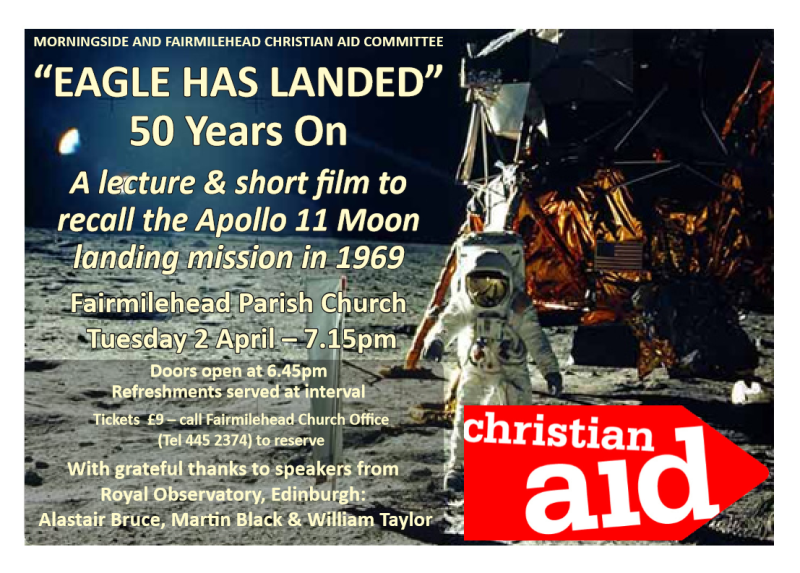 a lecture and short film of Apollo 11