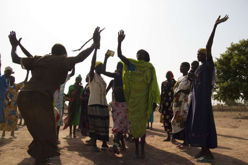 Celebrations in Northern Bahr el Ghazal despite intermittent violence that has affected this region of South Sudan