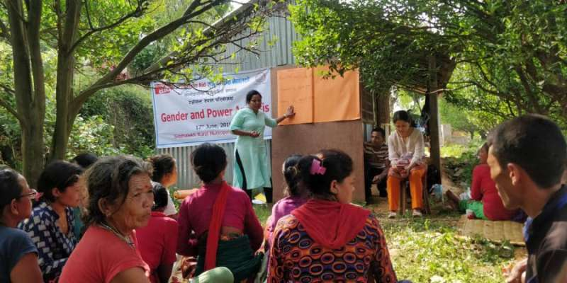 Local government gender training in Nepal