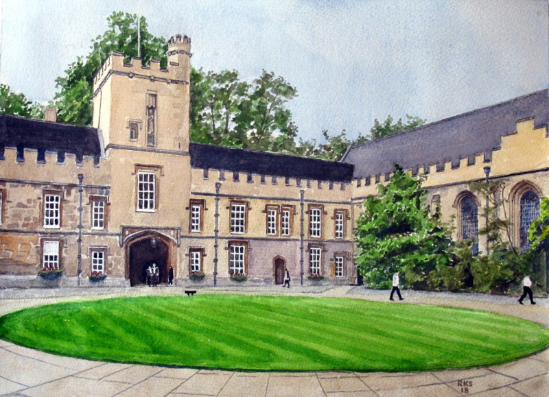 St John's College Quad