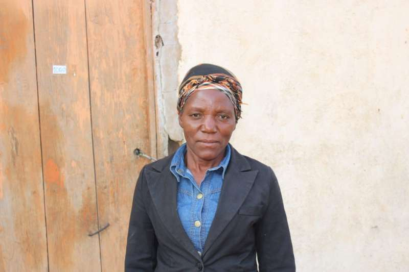 Thanks to a loan from her local micro-credit group, Albertina Nakatala was able to set up a long-distance trading business