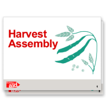 Preview of our Harvest 2017 school assembly presentation