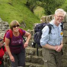 Walkers on the Hadrian's Walk Trek, 2011