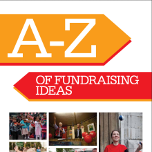 A thumbnail of Christian Aid's A-Z of fundraising ideas resource