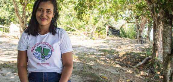 Joelma, MAB activist and human rights defender in the Tapajós region in the Amazon