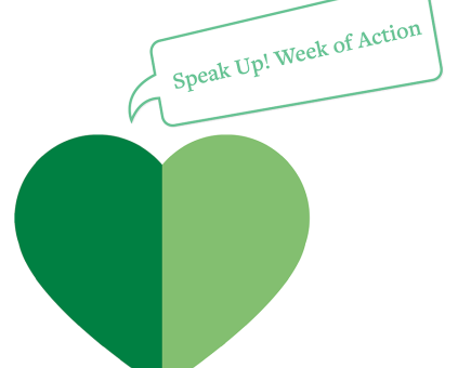 Speak Up Week of Action guide