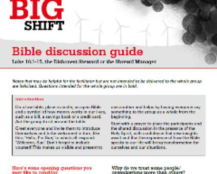 The Big Shift bible study thumbnail