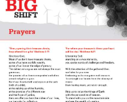 The Big Shift banks prayers