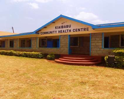 Health centre in Kenya