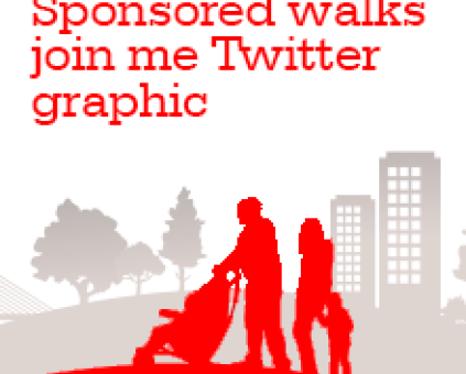 Sponsored Walks Twitter graphics