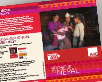 Neighbour to Nepal Assemblies of God leaflet thumbnail