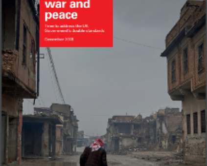 Resourcing war and peace report cover