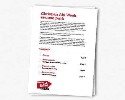 Christian Aid Week sermons thumbnail