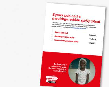 Christian Aid Week all-age talk and activity sheet (Welsh) thumbnail