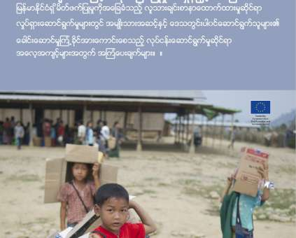 Accelerating localisation research summary - Myanmar language