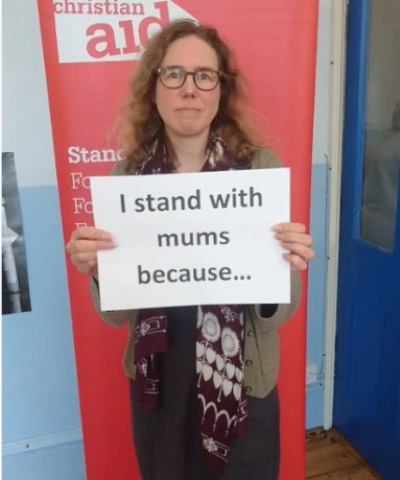 Rachel Jones from the Christian Aid York group shares her message